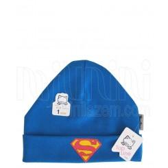 خريد اينترنتي سيسموني نوزاد کلاه سوپرمن پسرانه تاپ لاین Topline نوزادی، نی نی لازم فروشگاه اینترنتی سیسمونی