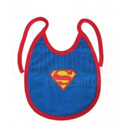 پیشبند نوزادی پسرانه طرح سوپرمن تاپ لاین Topline