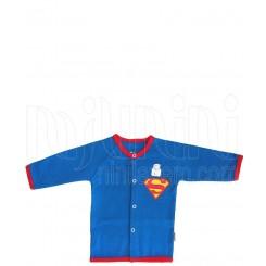 خريد اينترنتي سيسموني نوزاد تونیک نوزادی پسرانه سوپرمن تاپ لاین Topline - 1 نوزادی، نی نی لازم فروشگاه اینترنتی سیسمونی