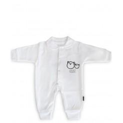 خريد اينترنتي سيسموني نوزاد لباس سرهمی نوزادی مدل خرس تاپ لاین Topline - 1 نوزادی، نی نی لازم فروشگاه اینترنتی سیسمونی