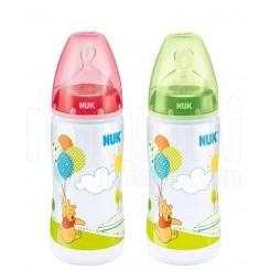 خريد اينترنتي سيسموني نوزاد شیشه شیرطلقی Disney پو و بادکنک ناک Nuk - 1 نوزادی، نی نی لازم فروشگاه اینترنتی سیسمونی