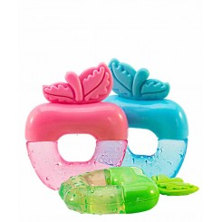 خريد اينترنتي سيسموني نوزاد دندانگیر خنک کننده مایع و یخی میوه ای اپل Apple baby نوزادی، نی نی لازم فروشگاه اینترنتی سیسمونی