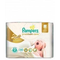 پوشک ضد حساسیت نوزادی پمپرز (سایز 0) Pampers