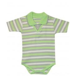 لباس زیردکمه دار آستین کوتاه نوزادی پسرانه بایا به آوران Behavaran