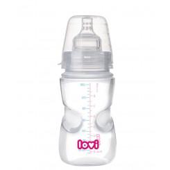 شیشه شیر لاوی با درپوش استریل کننده Lovi