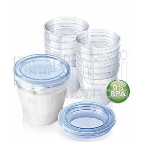 ظروف ذخیره شیر 180میل فیلیپس اونت Philips Avent - 1