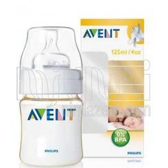 خريد اينترنتي سيسموني نوزاد شیشه شیر 125میل طلائی فیلیپس اونت Philips Avent - 1 نوزادی، نی نی لازم فروشگاه اینترنتی سیسمونی