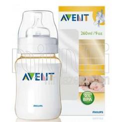 خريد اينترنتي سيسموني نوزاد شیشه شیر 260میل طلائی فیلیپس اونت Philips Avent - 1 نوزادی، نی نی لازم فروشگاه اینترنتی سیسمونی