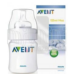 خريد اينترنتي سيسموني نوزاد شیشه شیر 125میل فیلیپس اونت Philips Avent - 1 نوزادی، نی نی لازم فروشگاه اینترنتی سیسمونی