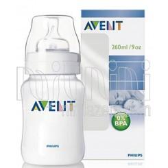 خريد اينترنتي سيسموني نوزاد شیشه شیر 260میل معمولی فیلیپس اونت Philips Avent - 1 نوزادی، نی نی لازم فروشگاه اینترنتی سیسمونی