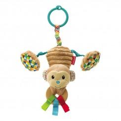 آویز کریر ویبره دار اینفنتینو طرح فیل و میمون Infantino