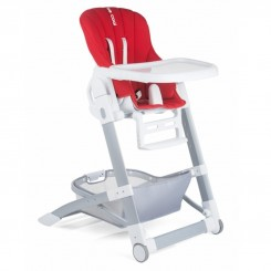 صندلی غذای کودک مدل Trona Brekfast رنگ قرمز بی کول Be Cool