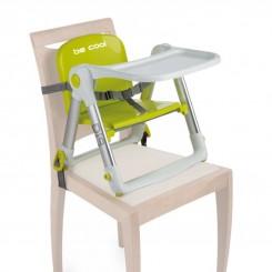 صندلی غذای پرتابل کودک رنگ سبز مدل DIP بی کول Be Cool