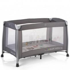 تخت و پارک با آویز تخت موزیکال بی کول رنگ خاکستری Be Cool
