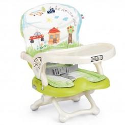 خريد اينترنتي سيسموني نوزاد صندلی غذا پرتابل کودک برند کم طرح نقاشی Cam نوزادی، نی نی لازم فروشگاه اینترنتی سیسمونی