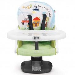 صندلی غذای کودک برند کم با پایه جدیدطرح نقاشی Cam