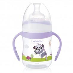 خريد اينترنتي سيسموني نوزاد شیشه شیر دسته دار ببدور 150 میل حیوانات Bebedor نوزادی، نی نی لازم فروشگاه اینترنتی سیسمونی