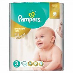 خريد اينترنتي سيسموني نوزاد پوشک پمپرز ضدحساسیت اونتاژ (سایز 3) Pampers نوزادی، نی نی لازم فروشگاه اینترنتی سیسمونی
