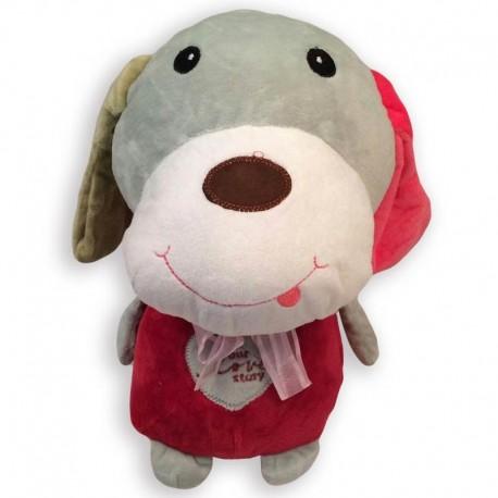 عروسک پولیشی کودک طرح سگ دو رنگ - 2