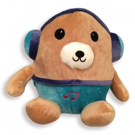 عروسک پولیشی خرس هدفون دار کودک - 1