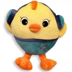 عروسک پولیشی کودک جوجه و اردک هدفون دار