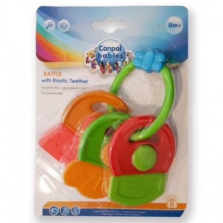 دندانگیر دسته کلیدی جغجغه ای کانپول بی بی Canpol babies