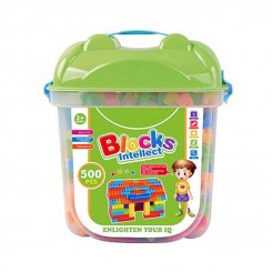 بلوک ساختمان سازی 500 تکه Yu ming toys
