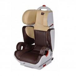 صندلی ماشین کودک چرم چلینو رنگ قهوه ای مدل وایپر Chelino