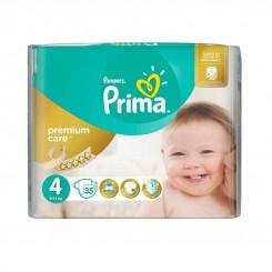 پمپرز پریما - پوشک ضدحساسیت پمپرز ترک (سایز 4) Pampers