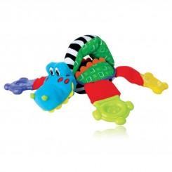 خريد اينترنتي سيسموني نوزاد دندانگیر عروسکی حیوانات نابی Nuby - 3 نوزادی، نی نی لازم فروشگاه اینترنتی سیسمونی