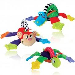 خريد اينترنتي سيسموني نوزاد دندانگیر عروسکی حیوانات نابی Nuby نوزادی، نی نی لازم فروشگاه اینترنتی سیسمونی