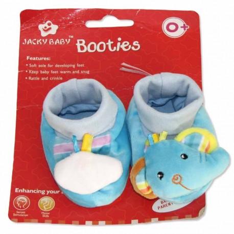 پاپوش نوزادی طرح فیل آبی جکی بی بی Jacky Baby - 3