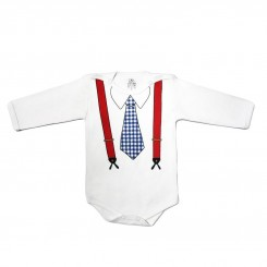 خريد اينترنتي سيسموني نوزاد لباس آستین بلند پسرانه لیدولند طرح مهندس Lido Land نوزادی، نی نی لازم فروشگاه اینترنتی سیسمونی