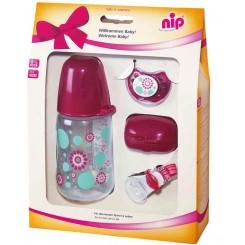 خريد اينترنتي سيسموني نوزاد ست کادوئی دختر نیپ Nip - 1 نوزادی، نی نی لازم فروشگاه اینترنتی سیسمونی