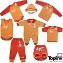لباس زیر پرتقالی تاپ لاین