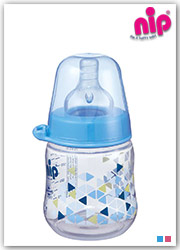 شیشه شیر طلقی کپل نیپ