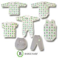 لباس نوزاد رنگ سبز