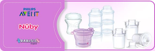 ظروف ذخیره شیر نوزاد