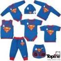 لباس نوزادی سوپرمن تاپ لاین