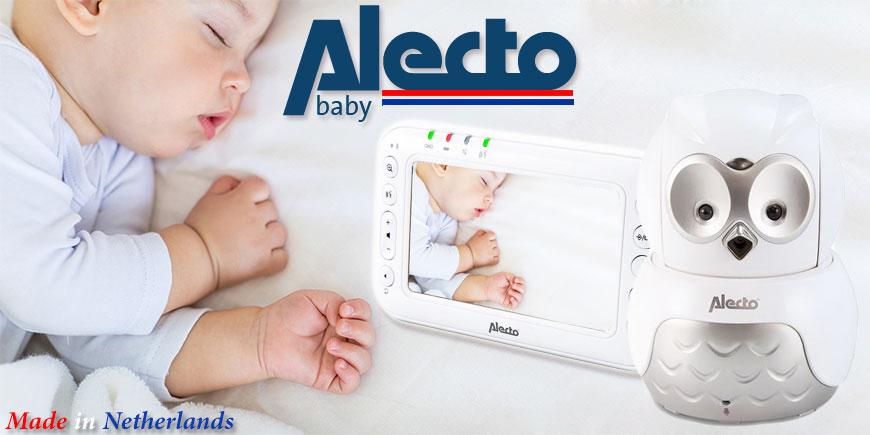 دوربین اتاق کودک آلکتا بی بی Alecta