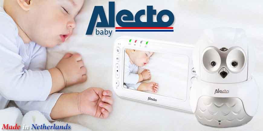 انواع دوربین و پیجرهای صوتی و تصویری اتاق کودک آلکتو