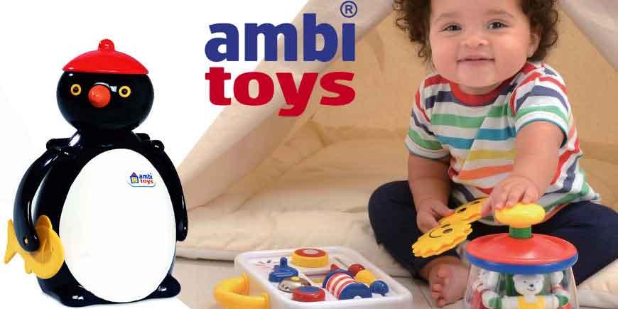 اسباب بازی های آموزشی کودک آمبی