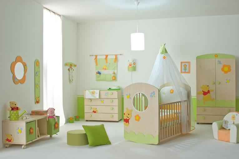 عکس از مدل چیدمان اتاق نوزاد دخترانه و پسرانه