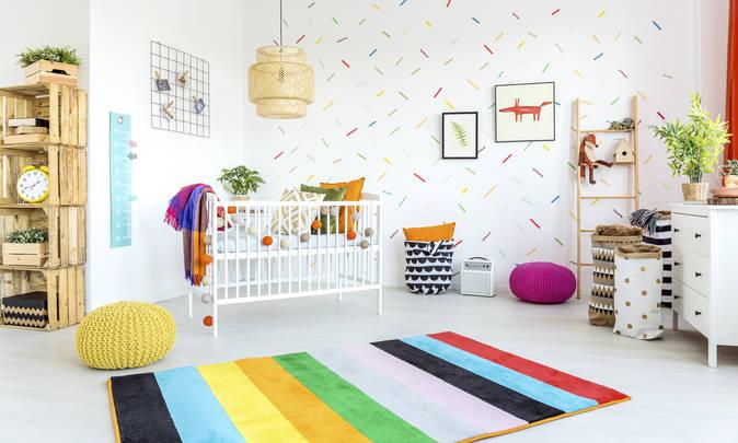 مدل چیدمان اتاق و سیسمونی نوزاد بسیار زیبا، شیک و اسپرت انواع مدل چیدمان و سیسمونی نوزاد پسر ایرانی