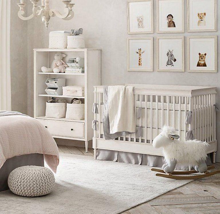 مدل سرویس چوب سیسمونی نوزاد با رنگ سفید