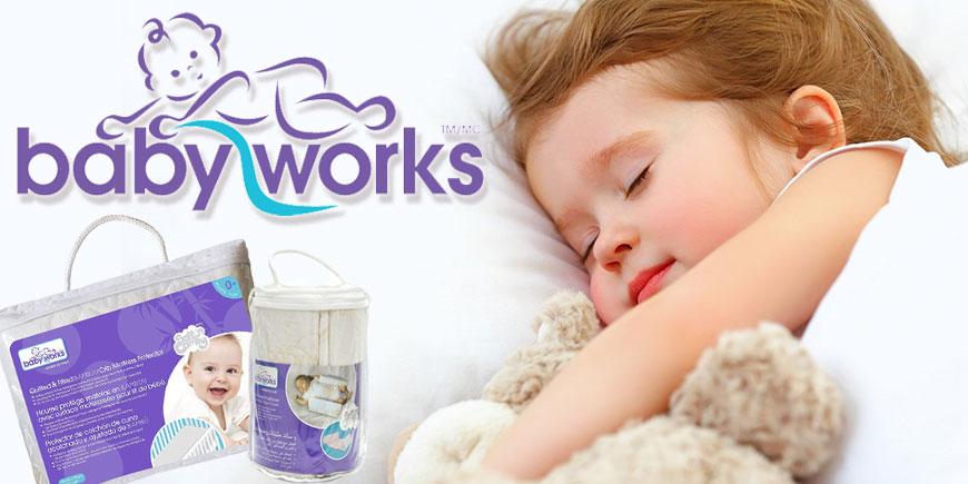 محصولات مراقبتی نوزاد و کودک بی بی ورکس baby works