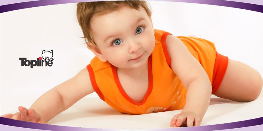 زیرپوش نوزادی دخترانه و پسرانه تاپ لاین