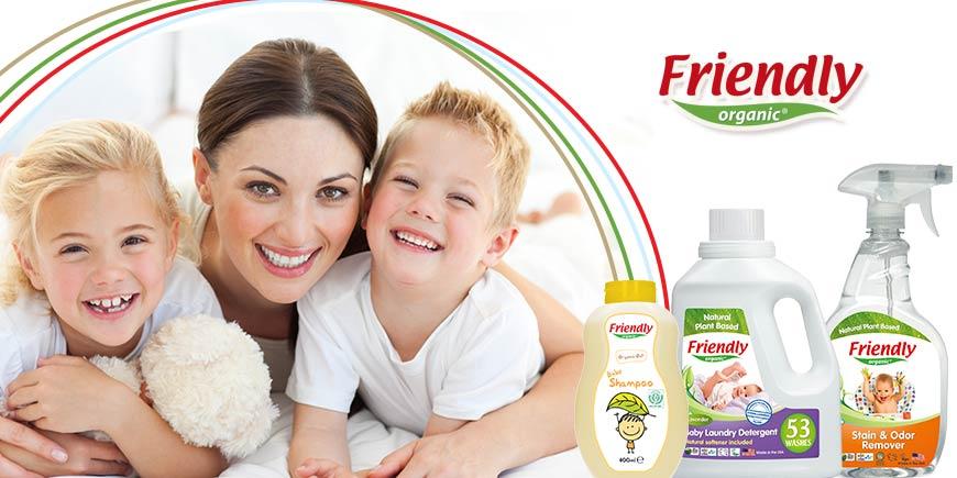 محصولات بهداشتی و شوینده نوزاد فرندلی ارگانیک ایتالیا