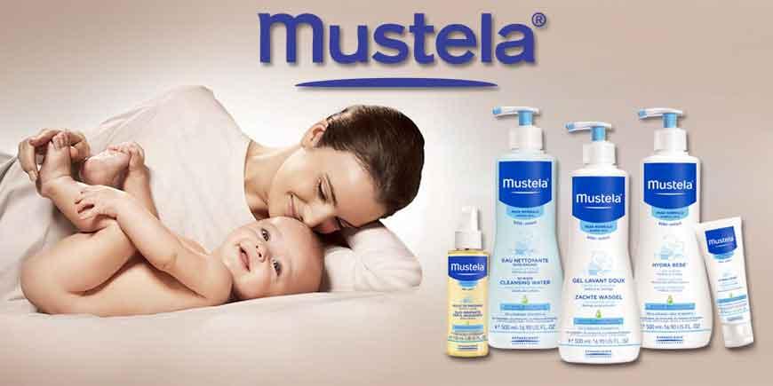 انواع شامپو و صابون و لوازم بهداشتی نوزاد و کودک موستلا