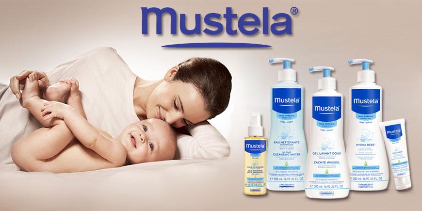 محصولات بهداشتی کودک و مادر موستلا